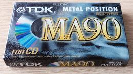 Музыкальные центры,  магнитофоны, магнитолы - TDK - MA90 - Metal - Кассета, 0