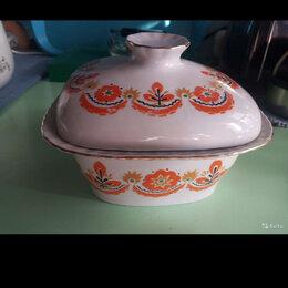Посуда - Масленка СССР. Фарфор , 0