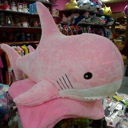 Мягкие игрушки - Акула с пледом, 0