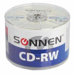 Диски - Диски CD-RW SONNEN 700 Mb 4-12x Bulk, КОМПЛЕКТ…, 0