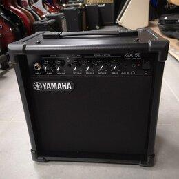 Гитарное усиление - Новый комбоусилитель Yamaha GA-15, 0