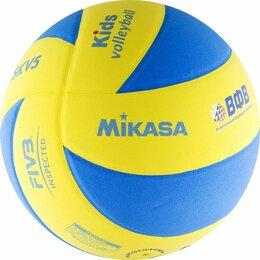 Мячи - Мяч волейбольный Mikasa SKV5, 0