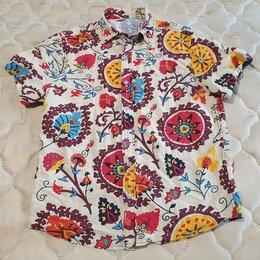 Рубашки - Новая мужская модная летняя рубашка 46 размер, 0
