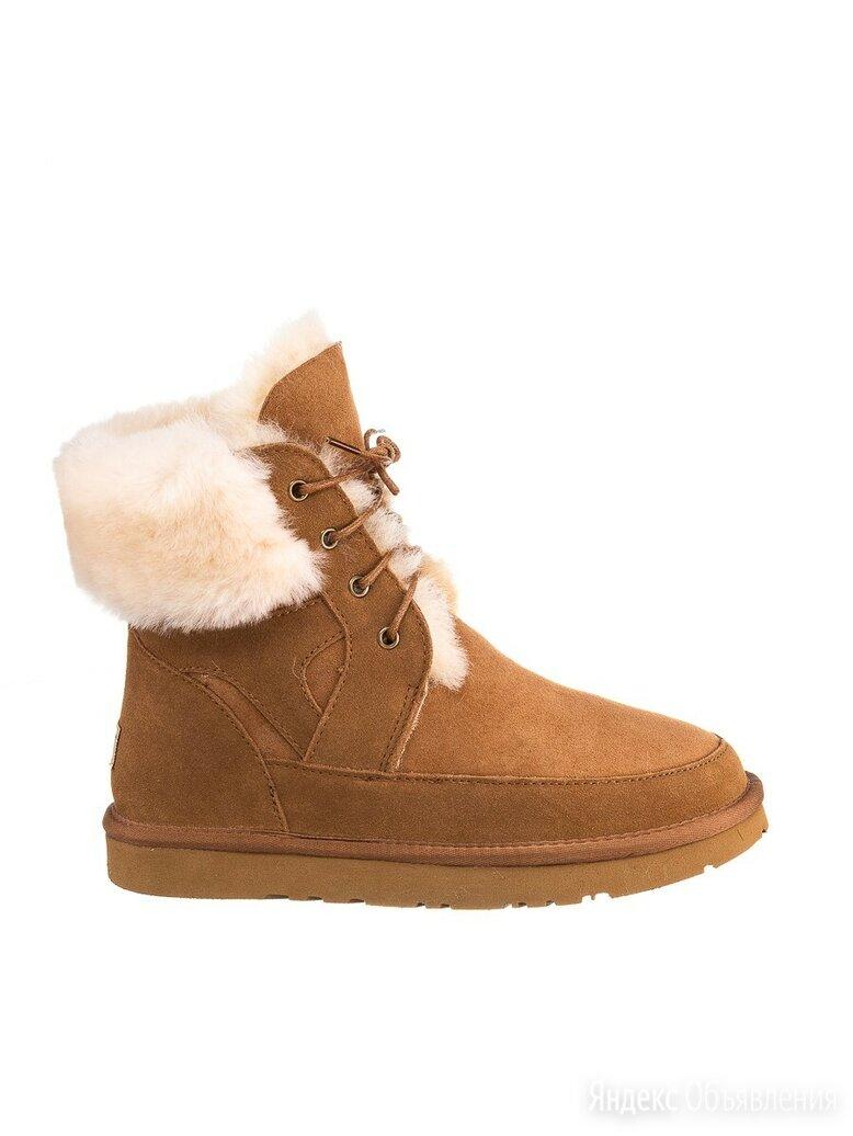 Ботинки из натуральной шерсти мериноса по цене 7990₽ - Ботинки, фото 0
