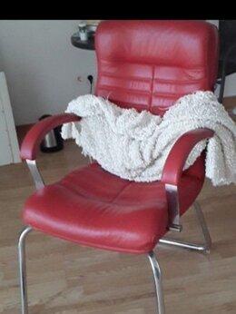 Компьютерные кресла - Кресло руководителя/переговорное красное, 0