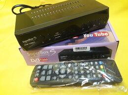 ТВ-приставки и медиаплееры - Ресивер цифровой эфирный DVB-T2 SuperBox S Новый, 0
