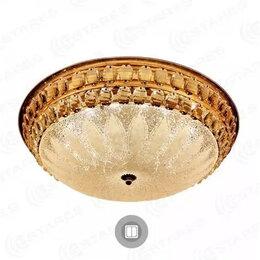 Люстры и потолочные светильники - Светильник Estares светодиодный SAHARA GOLD 72W (6120Lm) (КОД:718680), 0