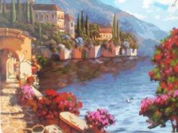 Раскраски и роспись - Картины по номерам Морской пейзаж 40х50 см, 0