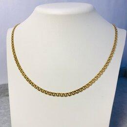 Цепи - Золотая цепочка 585пр длина: 51см вес: 10,04гр, 0