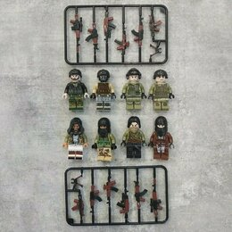 Конструкторы - Лего спецназ против террористов, 0