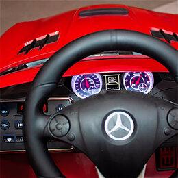 Транспорт на запчасти - RiverToys Автомобиль Mercedes-Benz SLS A333AA VIP, 0
