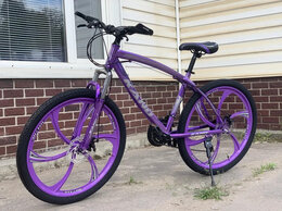 Велосипеды - Велосипед горный фиолетовый 💜 , 0