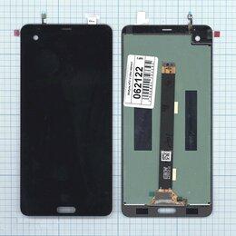 Дисплеи и тачскрины - Модуль - для HTC U Ultra черный, 0
