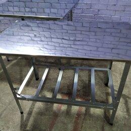 Прочее оборудование - Стол производственный нержавейка 1200x600x850мм, 0