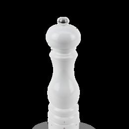 Солонки, перечницы и ёмкости для специй - Мельница Paris Peugeot для соли 22 см, белый лак (27834), 0