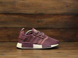 Кроссовки и кеды - Кроссовки Adidas NMD R1 violet (В111) , 0