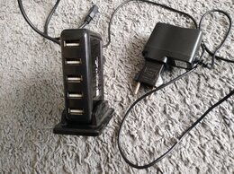 USB-концентраторы - USB хаб активный 7 портов, 0