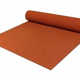 Садовые дорожки и покрытия - Резиновое покрытие 10 мм 1,5 х 6 м красное, 0