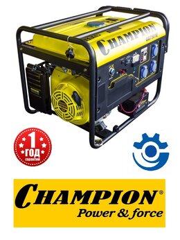Электрогенераторы - Электрогенератор Champion GG 7501Е, 0