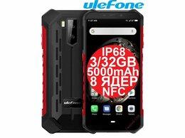 Мобильные телефоны - НОВЫЕ Ulefone Armor X5 Red IP68 8ядер NFC 3/32GB, 0