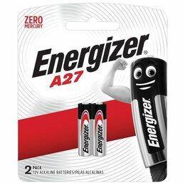 Батарейки - Батарейка ENERGIZER, A27 (27А), алкалиновые, для…, 0