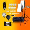 Софтбоксы 2шт+стойки+лампы 5000К LED по цене 5450₽ - Фотовспышки, фото 0