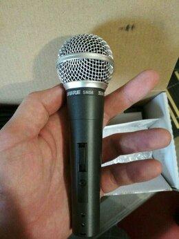 Микрофоны - Микрофон Shure sm58 новый в коробке, 0