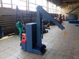 Грузоподъемное оборудование - Самоходный электрогидравлический Мини-кран с…, 0