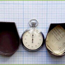 Секундомеры - СЕКУНДОМЕР Агат С-1-2э 2248 4282/9605 15 камней экспортный рабочий СССР 1971, 0