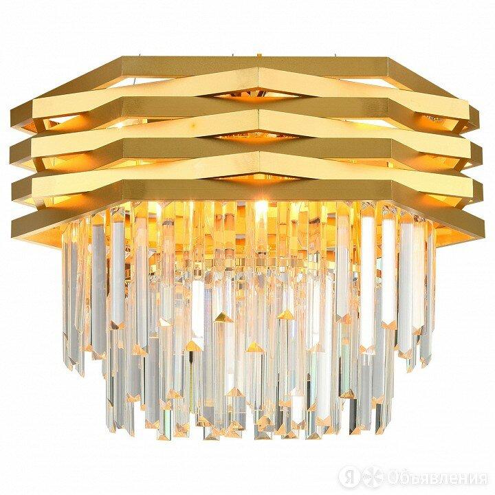 Подвесной светильник Natali Kovaltseva Spear SPEAR 76013/10C GOLD по цене 29718₽ - Интерьерная подсветка, фото 0