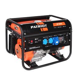 Электрогенераторы - Бензиновый генератор PATRIOT Max Power SRGE 6500E , 0