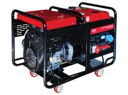 Электрогенераторы - Генератор бензиновый трехфаз Elitech БЭС 22500ЕТМК, 0