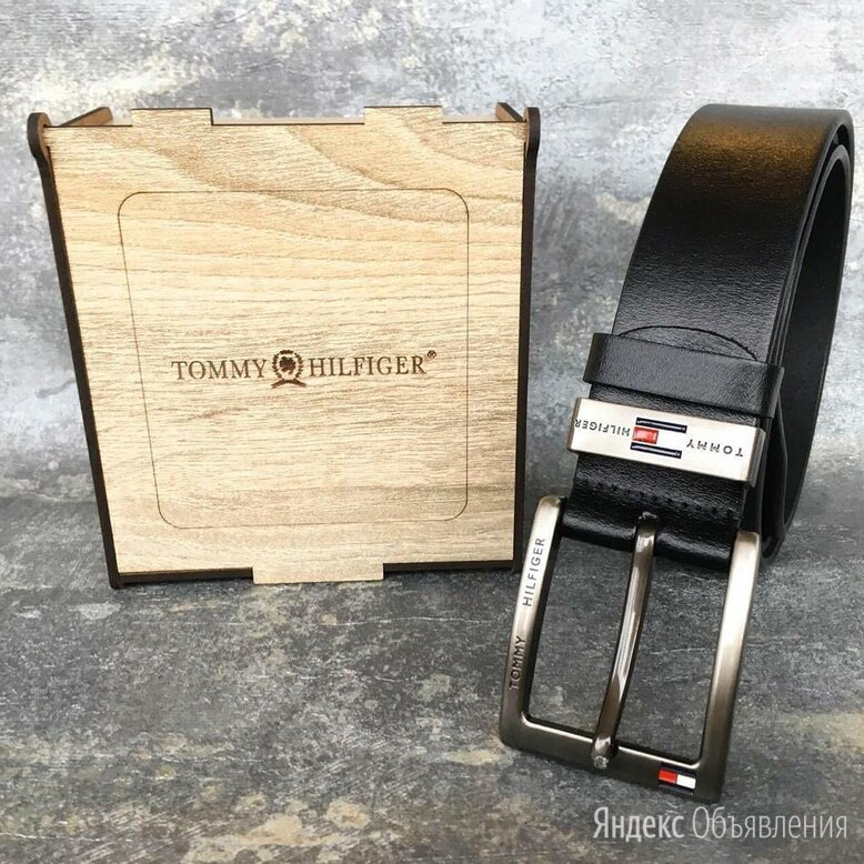 Ремень Tommy Hilfiger натуральная кожа по цене 998₽ - Ремни и пояса, фото 0