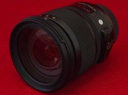Объективы - Sigma AF 24-105mm f/4 DG HSM Art (гарантия, чек), 0