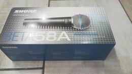 Микрофоны - Shure beta58a микрофон новый в упаковке, 0
