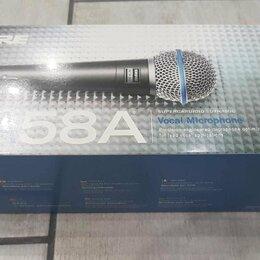 Микрофоны и усилители голоса - Shure beta58a микрофон новый в упаковке, 0
