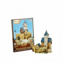 Сборные модели - Охотничий замок (Сборная игрушка из картона), 0