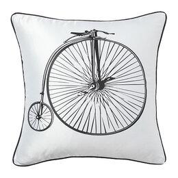 Подушки - Подушка с ретро-велосипедом Retro Bicycle White, 0