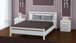 Кровати - Кровать из массива Вероника дуб белый, 0