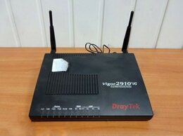 Оборудование Wi-Fi и Bluetooth - Беспроводной маршрутизатор WiFi DrayTek Vigor 2910, 0