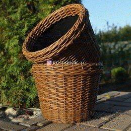 Горшки, подставки для цветов - Плетеные кашпо, 0