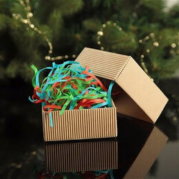 """Рукоделие, поделки и товары для них - Наполнитель бумажный """"Новогодний, микс, 50 г  …, 0"""