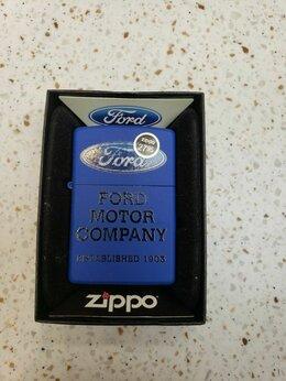 Пепельницы и зажигалки - Зажигалка zippo ford, 0