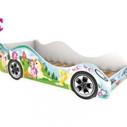 Кроватки - Кровать-машина Принцесса, 0