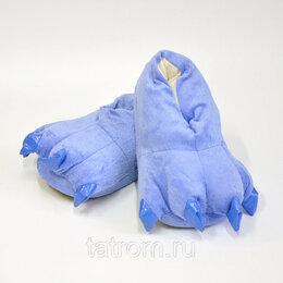 Кигуруми - Тапочки для кигуруми голубые, 0