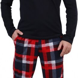 Домашняя одежда - Мужская пижама Горец (темно-синий), 0