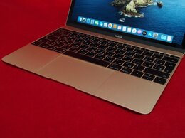 Ноутбуки - MacBook 12 Retina M 8Gb 256Gb SSD (гарантия, чек), 0