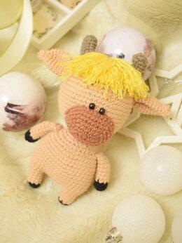 Мягкие игрушки - бычок  Боря, 0