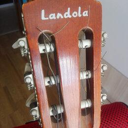 Акустические и классические гитары - Landola Финская Hand Made Гитара 1988 года, 0