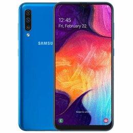 Мобильные телефоны - Samsung Galaxy A50 4/64GB SM-A505F Синий, 0